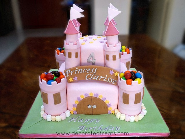 Castle Birthday Cake Castle Birthday Cake
