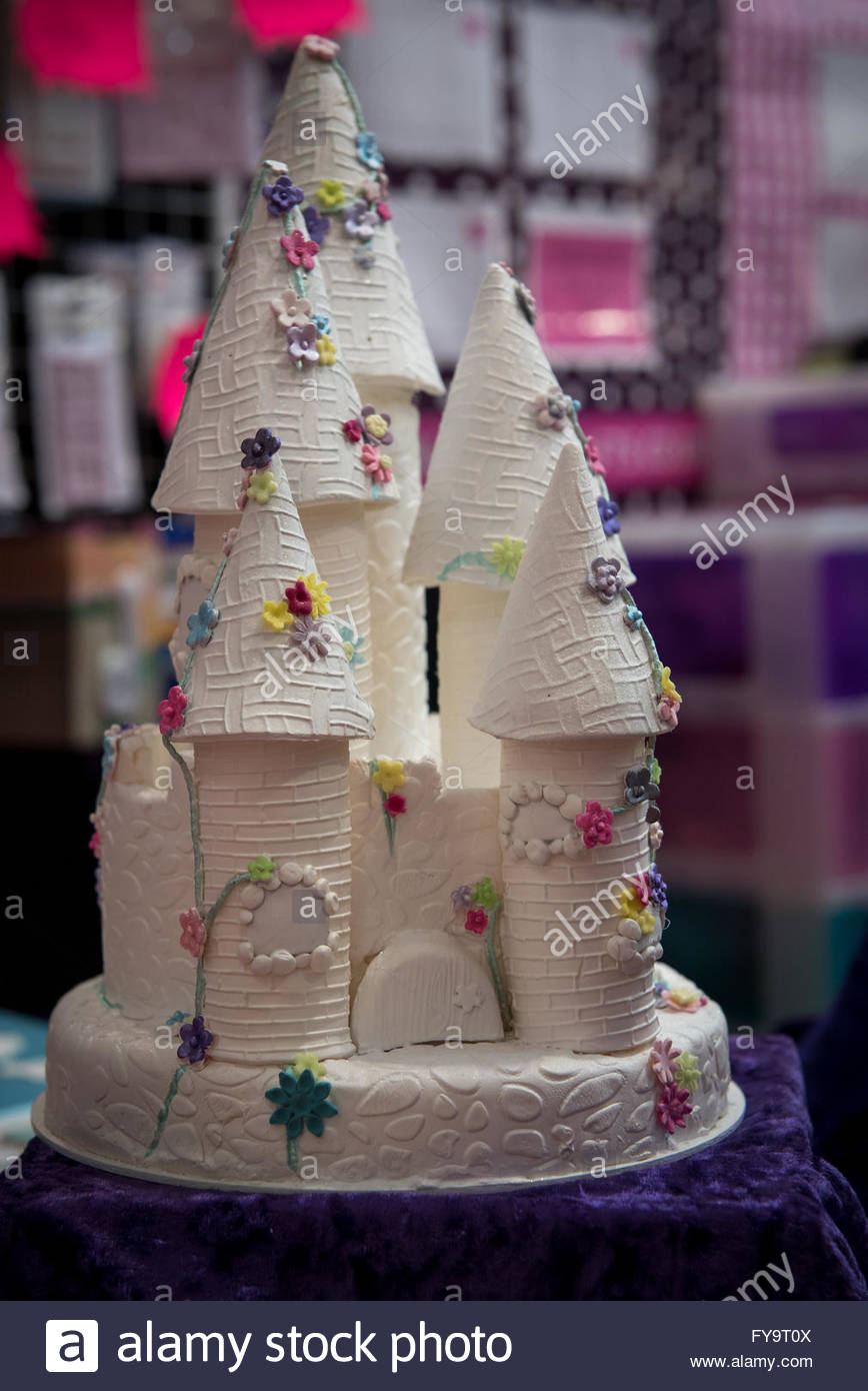 Castle Birthday Cake Decorative White Princess Castle Birthday Cake At Cake International