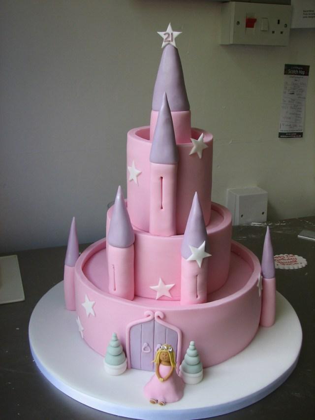 Castle Birthday Cake Fairy Castle Birthday Cake Birthday Cake For A Princess Flickr
