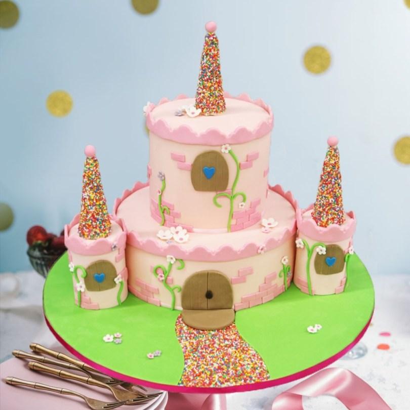 Castle Birthday Cake Fairy Tale Castle Birthday Cake