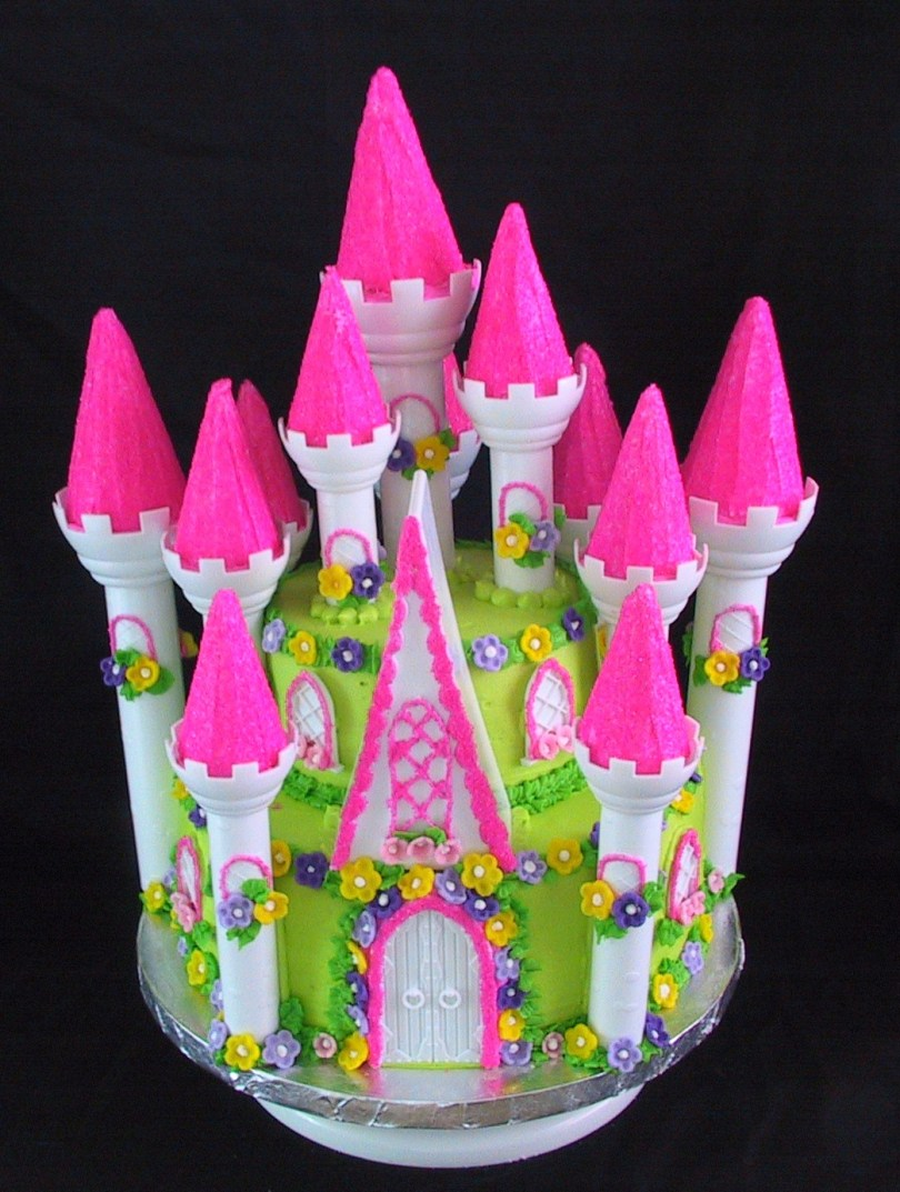 Castle Birthday Cake Princess Castle Birthday Cake The Twisted Sifter