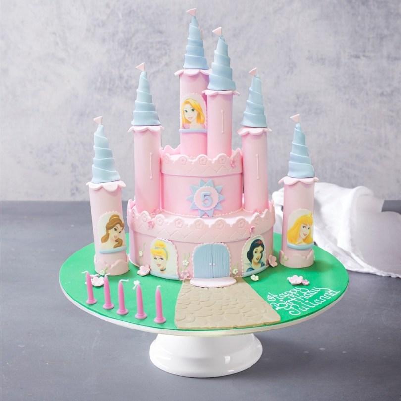 Castle Birthday Cake Princess Castle Birthday Cake