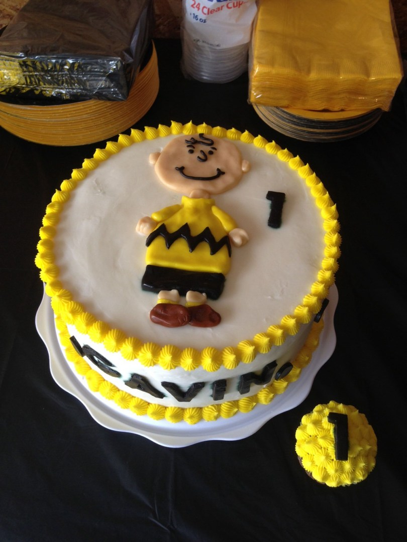 Charlie Brown Birthday Cake Charlie Brown Birthday Cake From Sugar On Top Bakery Check Us Out