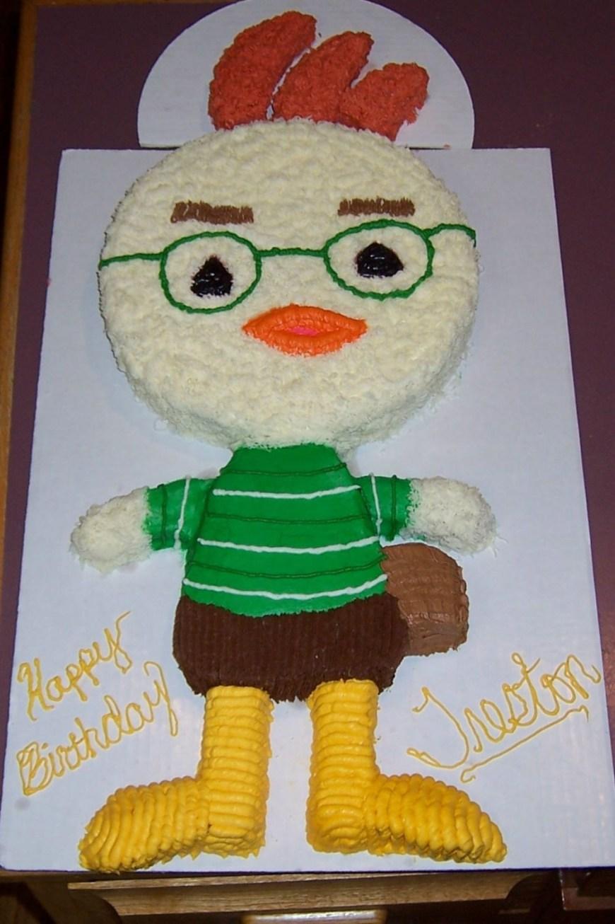 Chicken Birthday Cake Chicken Little Birthday Cake This Is A Great Chicken Little Cake