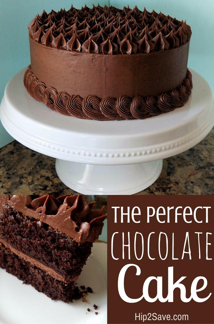 Chocolate Birthday Cake Recipe The Best Chocolate Cake Recipe In 2019 Appetizers Brunch