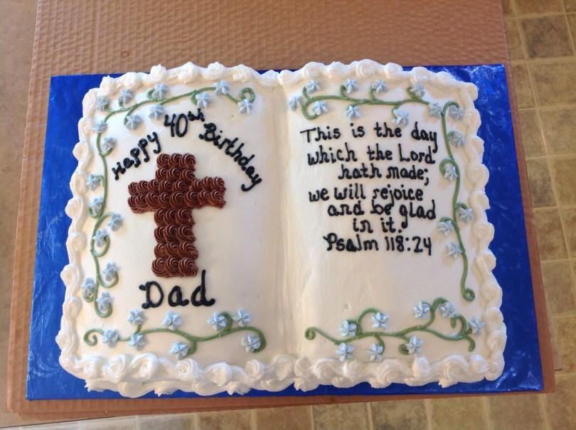 Christian Birthday Cakes Bible Birthday Cake Cakes Me Pinterest Cake Birthday Cake