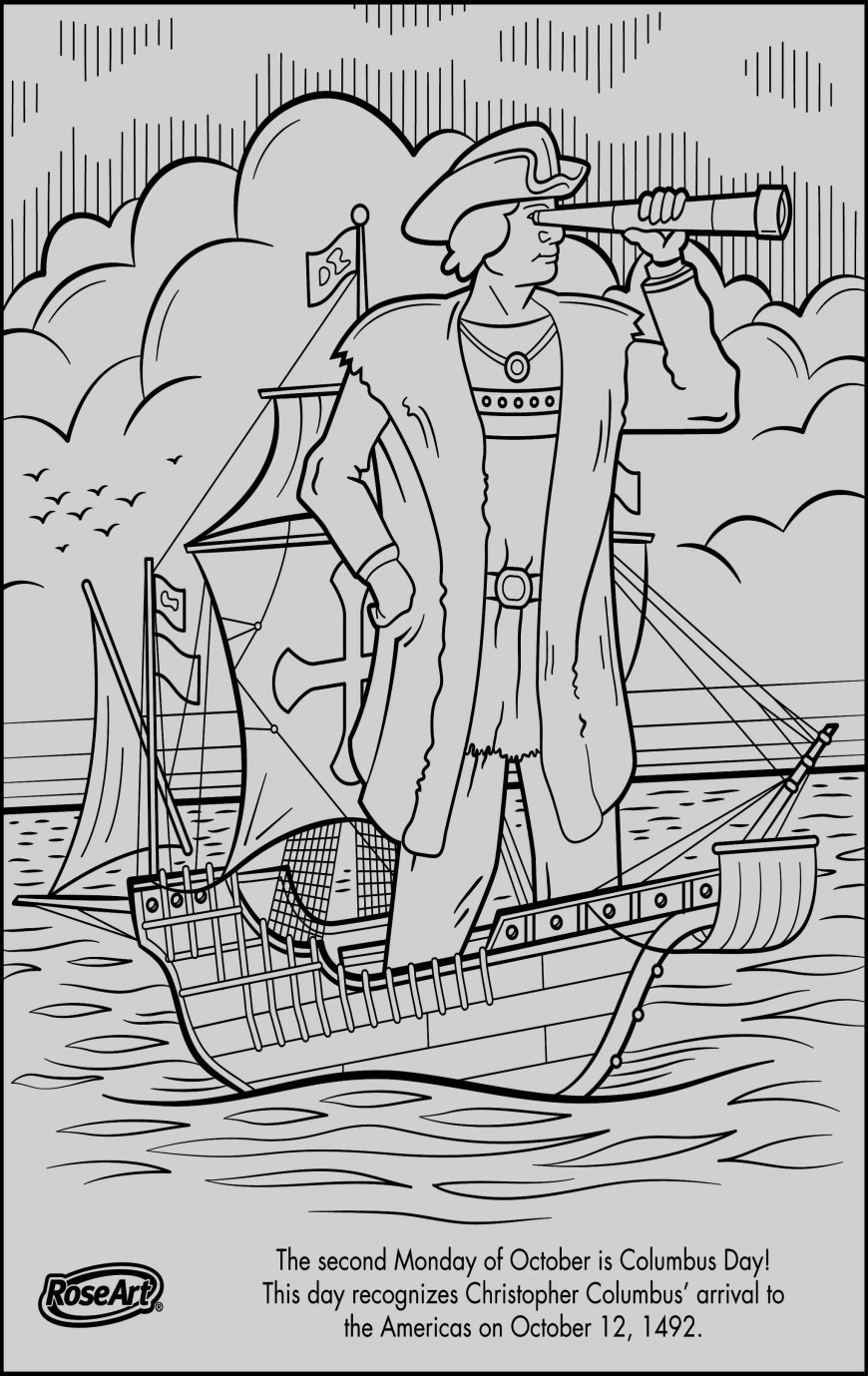 Christopher Columbus Coloring Page Winx Club Coloring Book Pages Template For Christopher Columbus
