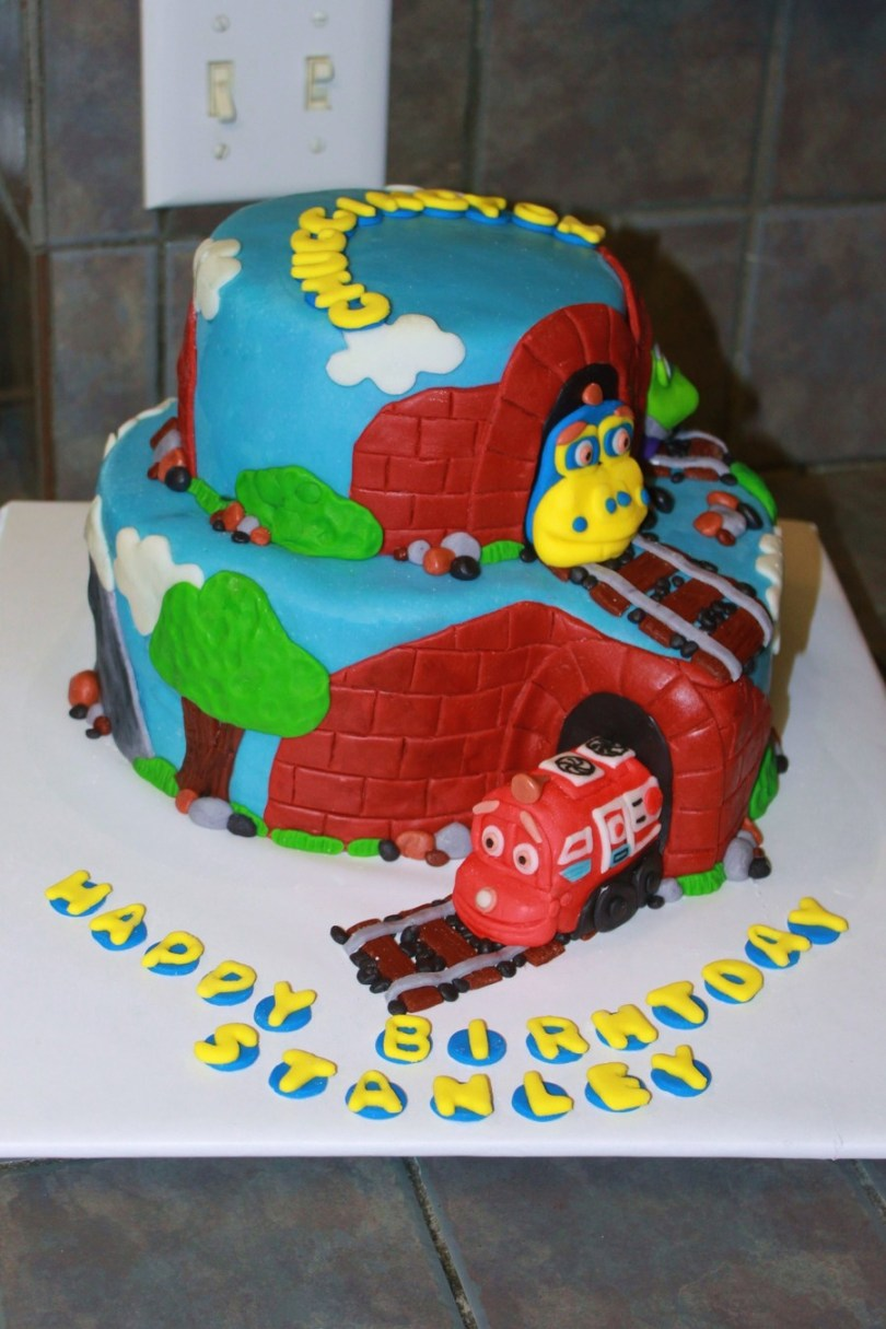 Chuggington Birthday Cake Chuggington Birthday Cake Cakecentral