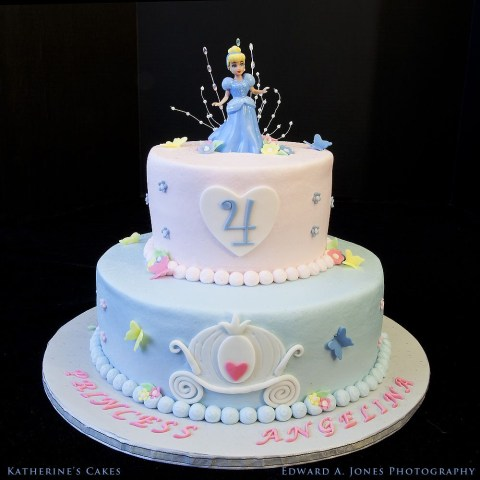 Cinderella Birthday Cake Birthday 104 Disney Cinderella Princess Birthday Cake For Four