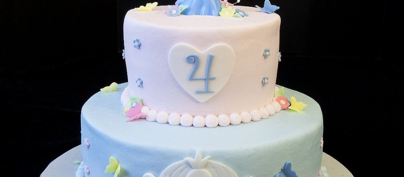 Cinderella Birthday Cake Birthday 104 Disney Cinderella Princess Birthday Cake For Four
