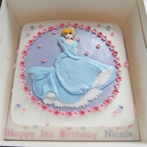 Cinderella Birthday Cake Cinderella Princess Birthday Cake Janet Whitehead Flickr