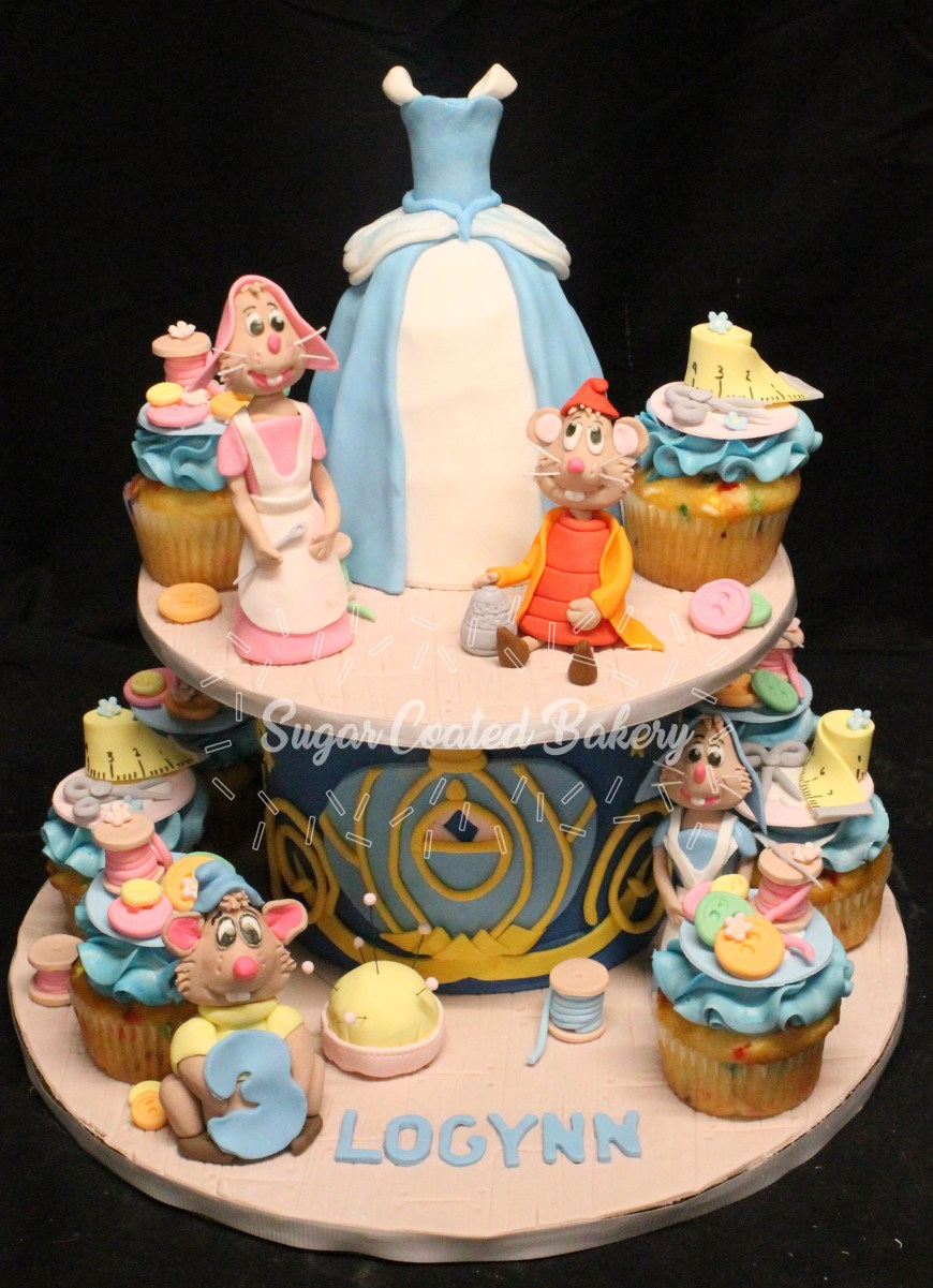 Cinderella Birthday Cake Sugar Coated Bakery Lowell Baking Everyday Better