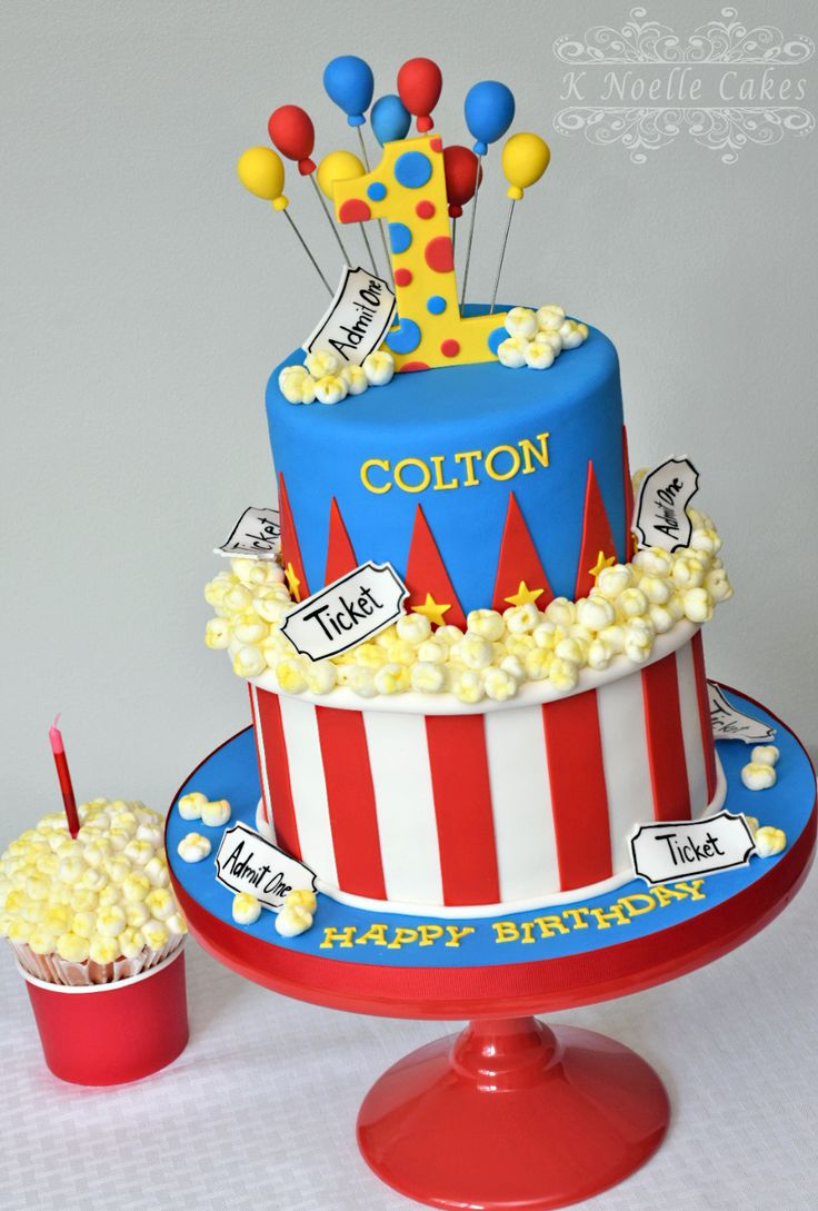 Circus Birthday Cakes 13 Circus Themed Cakes And Decorations Photo Carnival Circus
