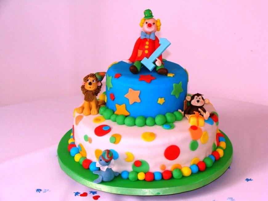 Circus Birthday Cakes Simple Circus Birthday Cakes Ideas