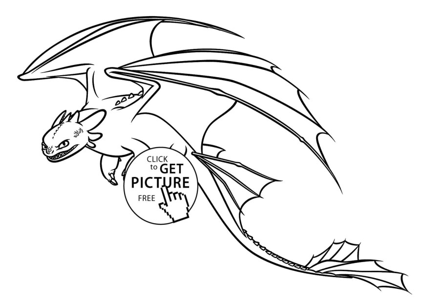 Color Pages Online Toothless Coloring Pages Online How Train Your Dragon 14 Get