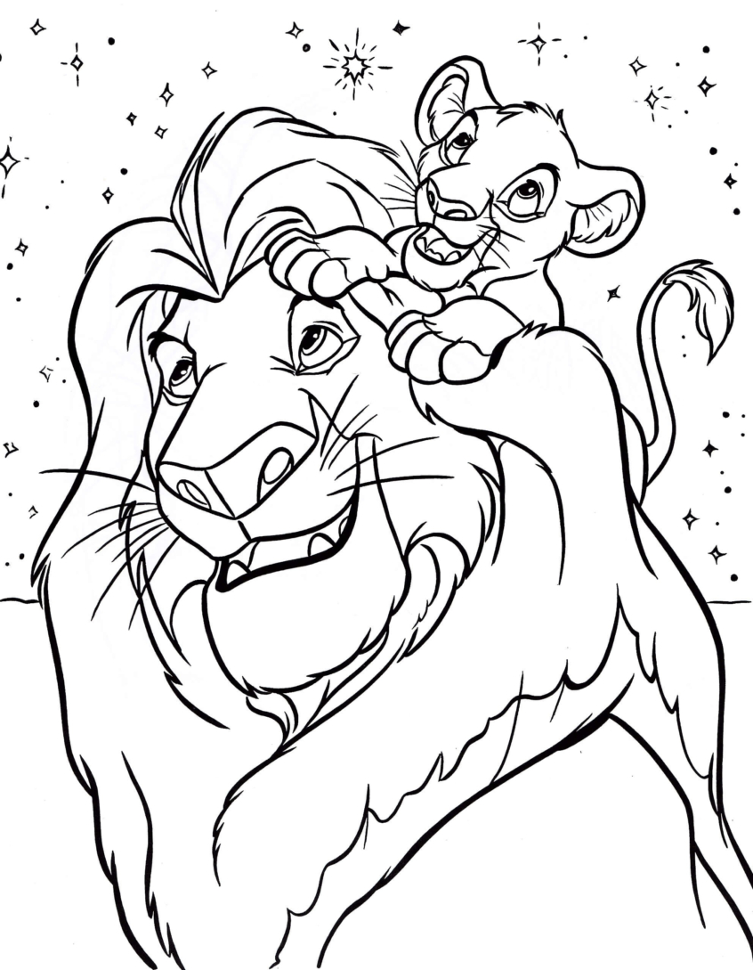 Coloring Pages Disney Coloring Page 32 Disney Coloring