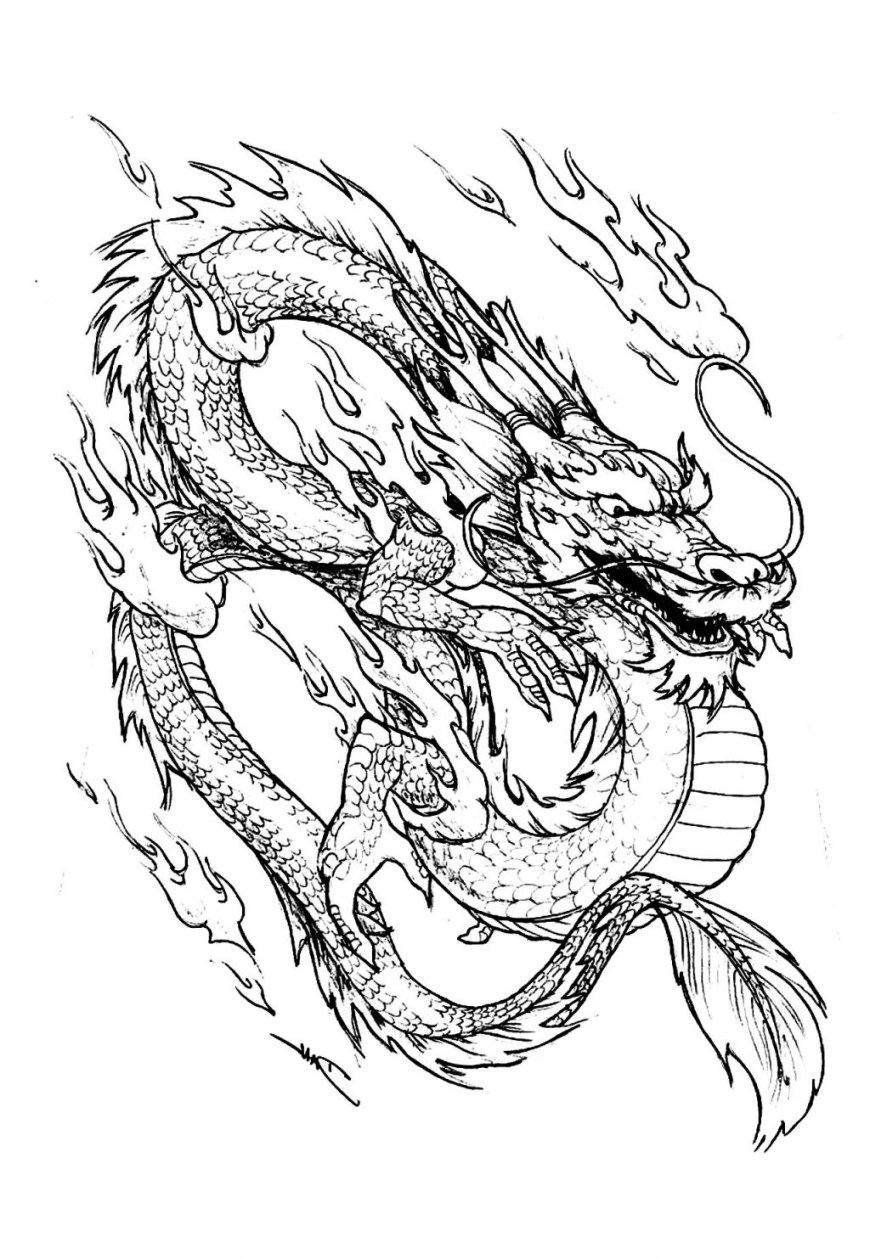 Coloring Pages Dragons Coloring Pages Extraordinary Dragon Art Coloring Pages Photo