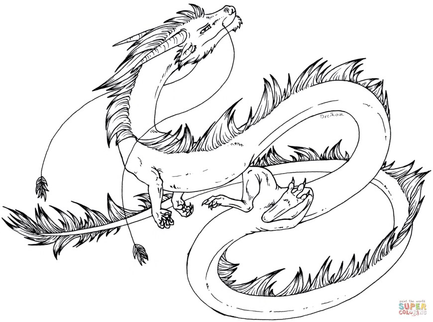 Coloring Pages Dragons Dragon Coloring Pages Free Coloring Pages
