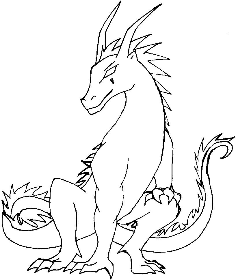 Coloring Pages Dragons Fire Dragon Coloringes Free Printable For Kids Staggering Book Image