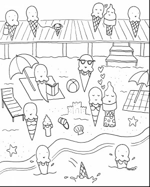 Coloring Pages For Preschoolers Coloring Pages Preschool New Beautiful Summer For Free Draw To Color