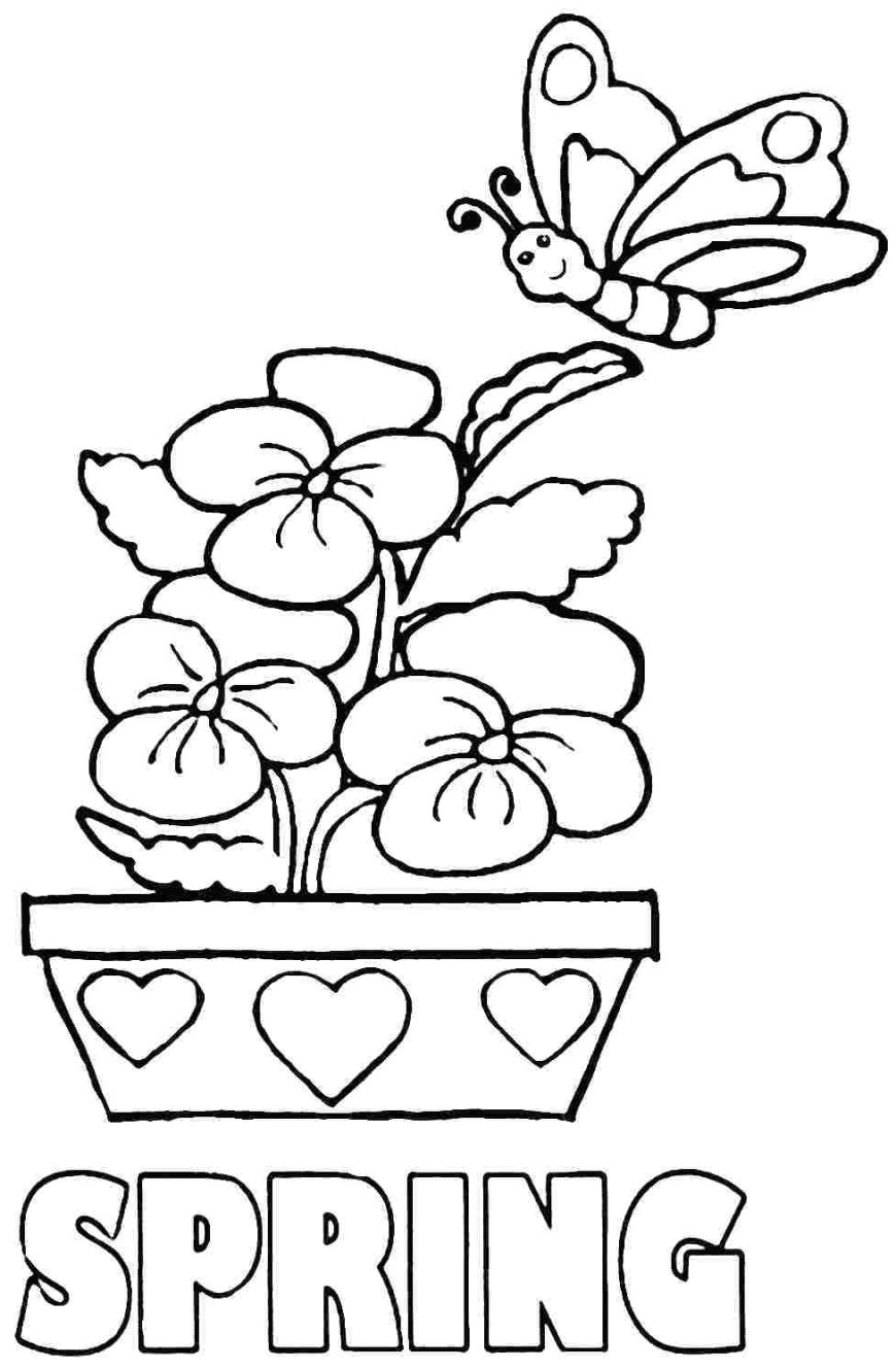 Coloring Pages For Preschoolers Easy Coloring Pages Preschool Printable Coloring Page For Kids