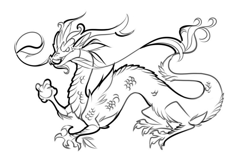 Coloring Pages Of Dragons Coloring Pages Free Printable Dragon For Kids Cool Sheets Summer