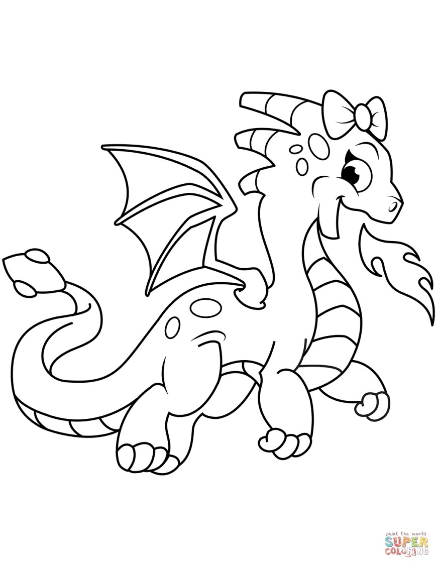 Coloring Pages Of Dragons Dragon Coloring Pages Free Coloring Pages