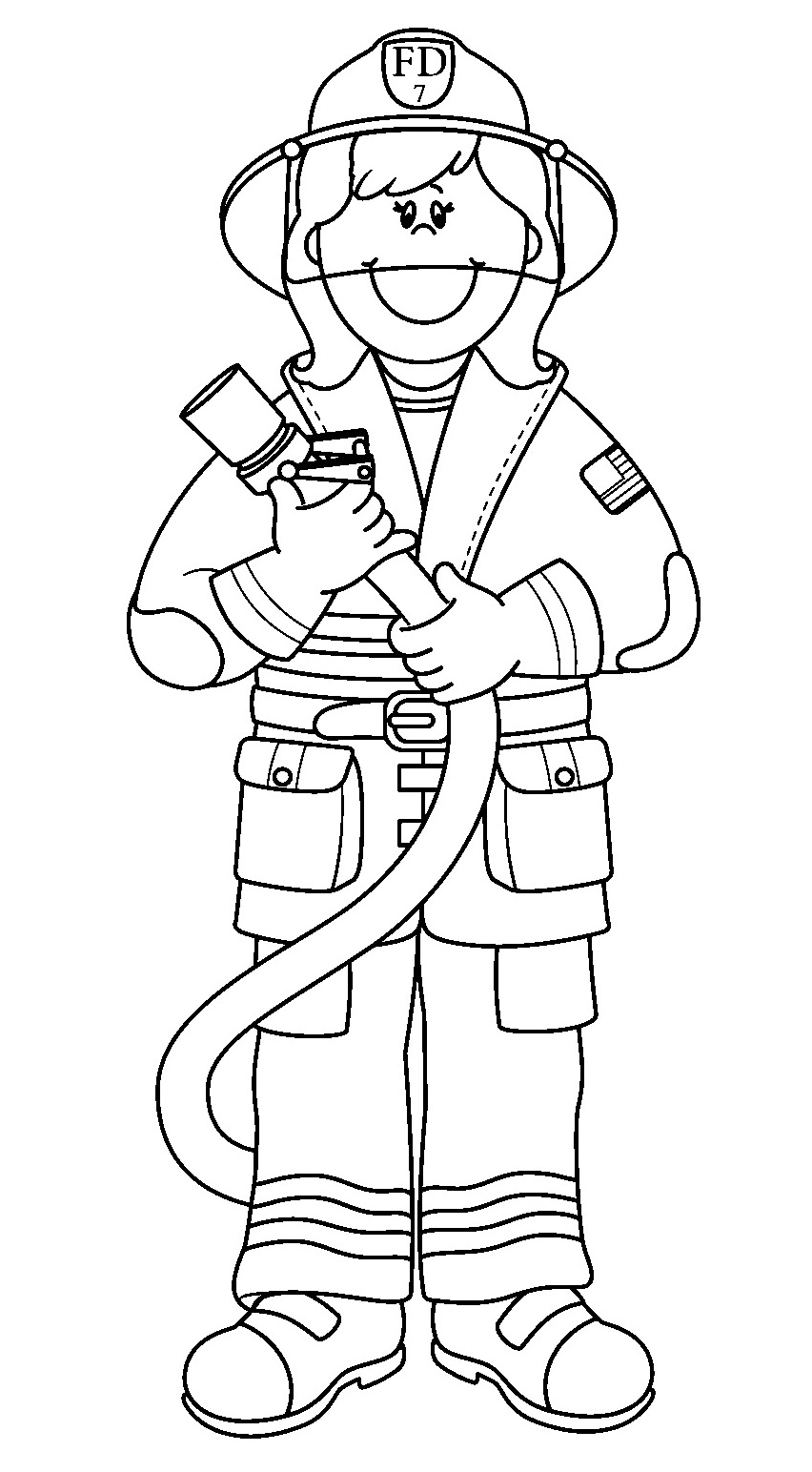 Community Helpers Coloring Pages New Community Helpers Coloring Pages Colin Bookman