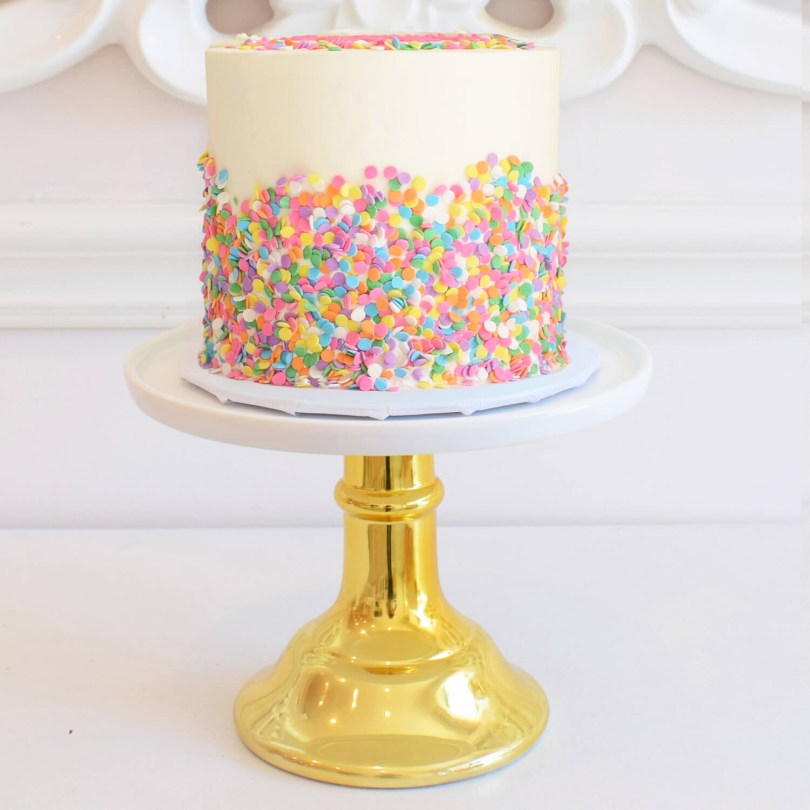 Confetti Birthday Cake Confetti Cake Ba Beas Bakeshop