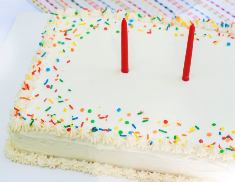 Confetti Birthday Cake Confetti Sheet Cake Bit Bauble