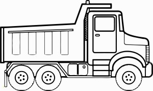 Construction Coloring Pages Coloring Page Truck Coloring Book