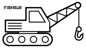 Construction Coloring Pages Construction Vehicles Coloring Pages 5h7k Crane Truck Coloring Pages