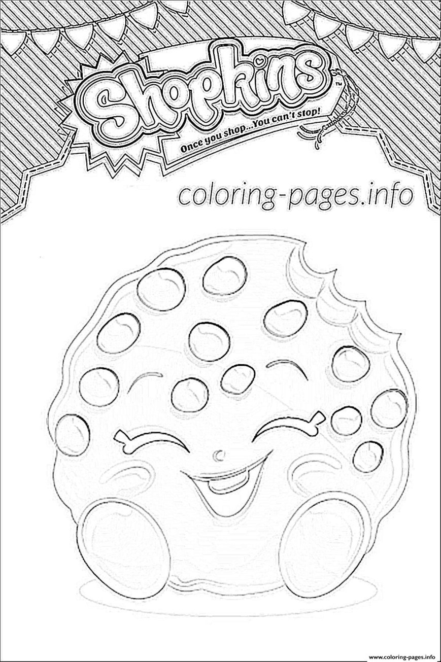 Cookie Coloring Pages Coloring Pages Shopkins Cookie Coloring Pages New Pinterest Free
