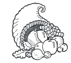 Cornucopia Coloring Pages Thanksgiving Cornucopia Coloring Pages 6 Betweenpietyanddesire