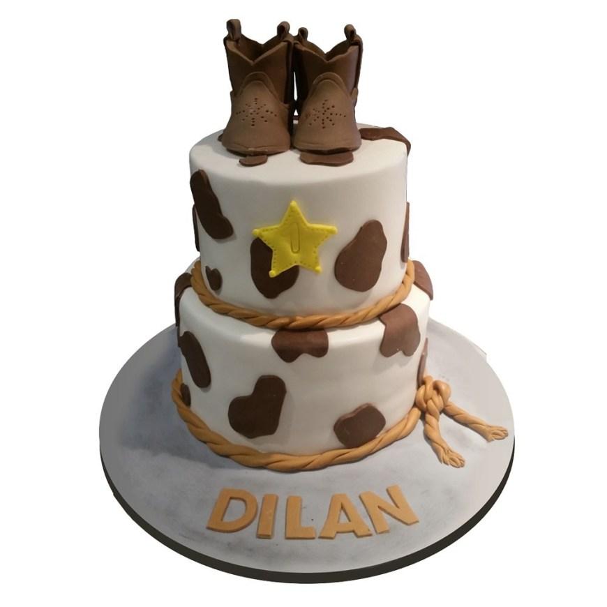 Cowboys Birthday Cake Cowboy Birthday Cake