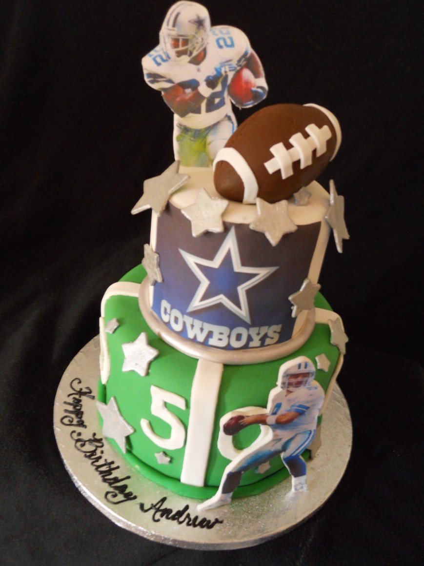 Cowboys Birthday Cake Dallas Cowboys Birthday Cake Cakecentral
