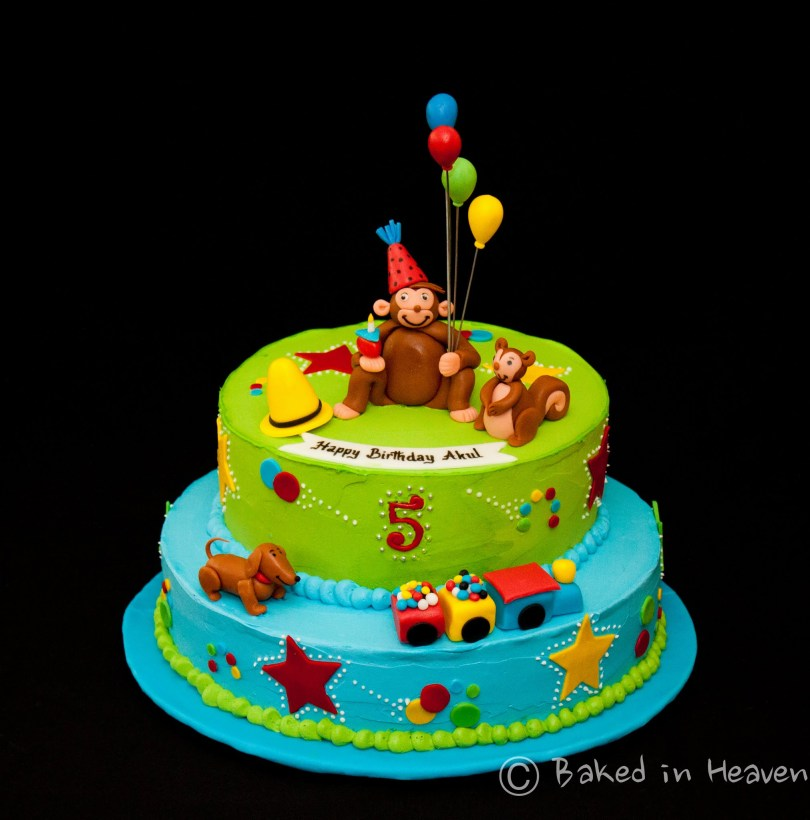 Curious George Birthday Cake Another Curious George Cake Baked In Heaven