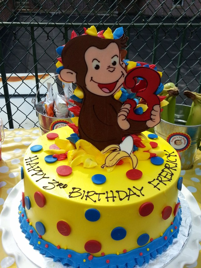 Curious George Birthday Cake Curious George Birthday Cake Riviera Bakehouse Birthdays