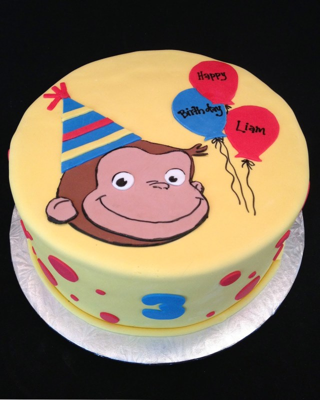 Curious George Birthday Cake Curious George Birthday Cake