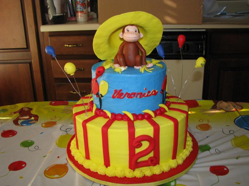 Curious George Birthday Cake Funny Curious George Birthday Ideas Classic Style