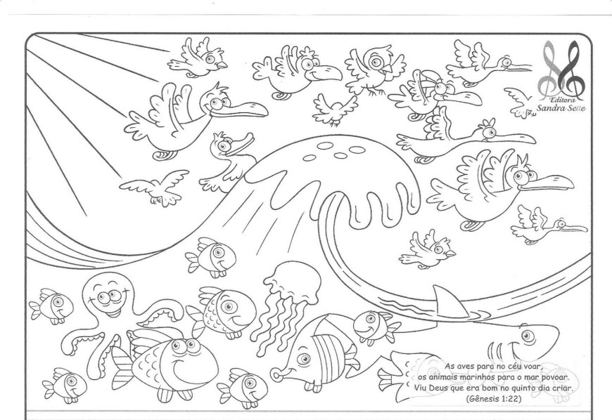 Days Of Creation Coloring Pages Creation Coloring Pages Save Refundable Color New Page Bitslice