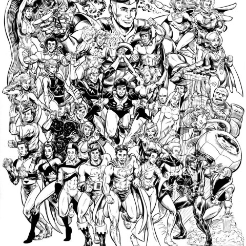 Dc Comics Coloring Pages Dc Coloring Pages Dc Superheroes Free Page Adults Kids Movies