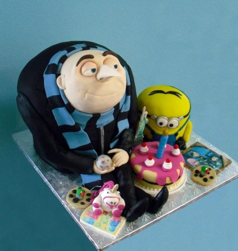 Despicable Me Birthday Cake Despicable Me Birthday Cake Cakecentral