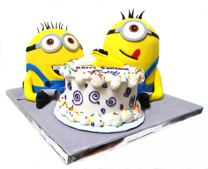 Despicable Me Birthday Cake Pictures Of Despicable Me Birthday Cake Protoblogr Design