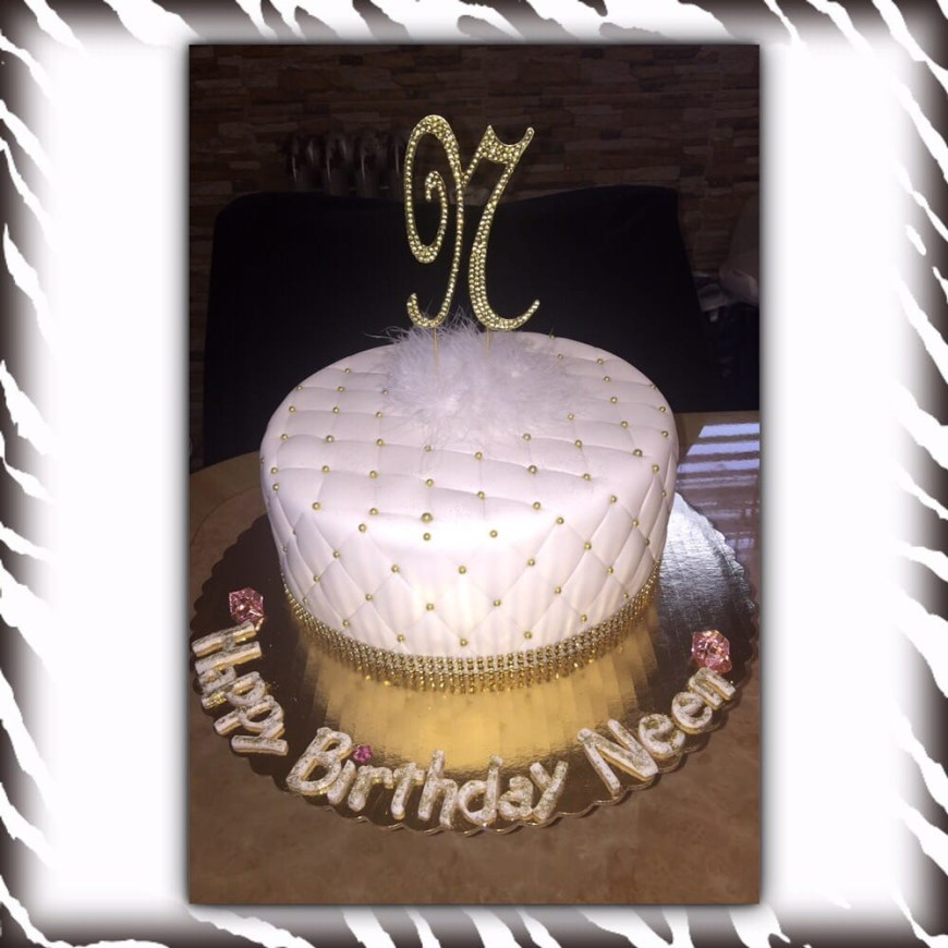Diamond Birthday Cake Diamond Quilted Bling Birthday Cake Yelp