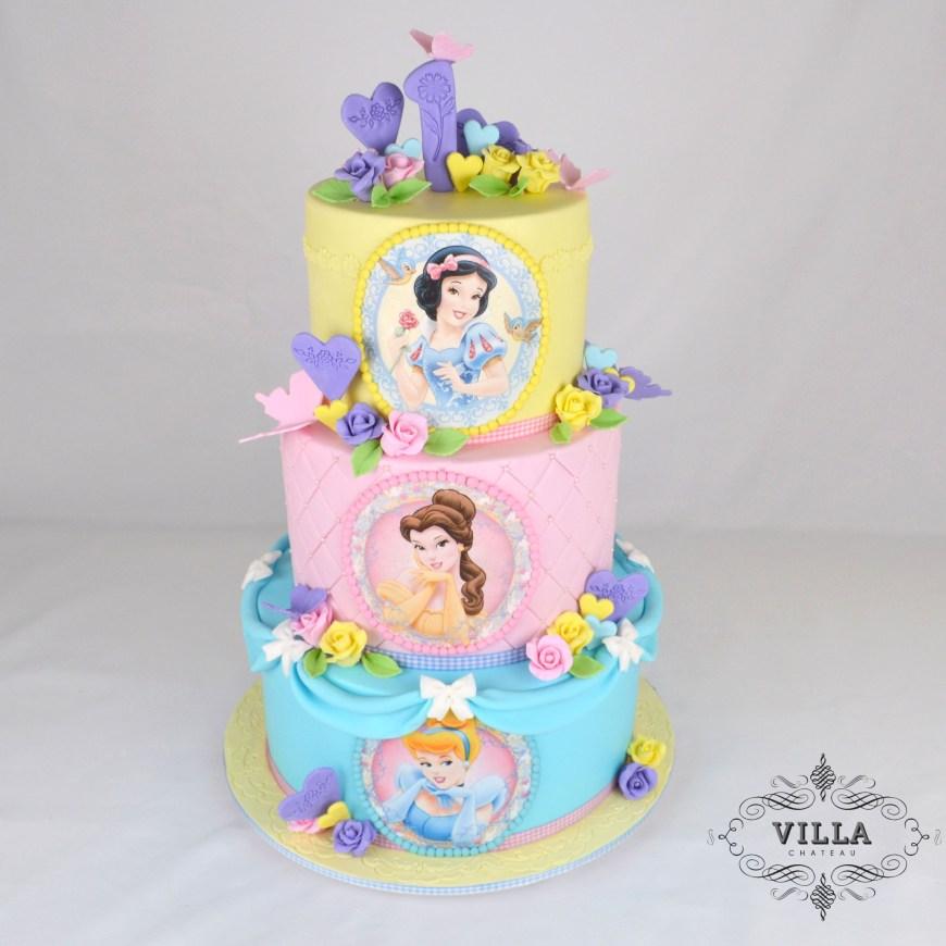 Disney Birthday Cake Disney Princess Birthday Cake Motivtorten Pinterest Disney