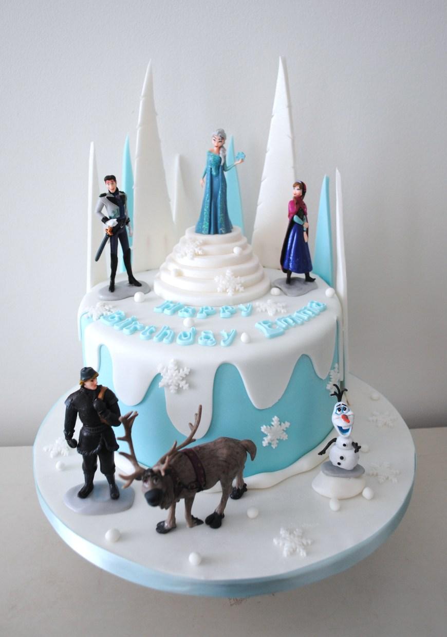 Disney Birthday Cake Miss Cupcakes Blog Archive Disney Frozen Birthday Cake