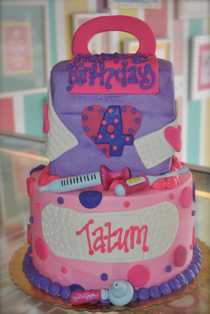 Doc Mcstuffin Birthday Cakes Coolest Cupcakes Doc Mcstuffins Birthday Cake