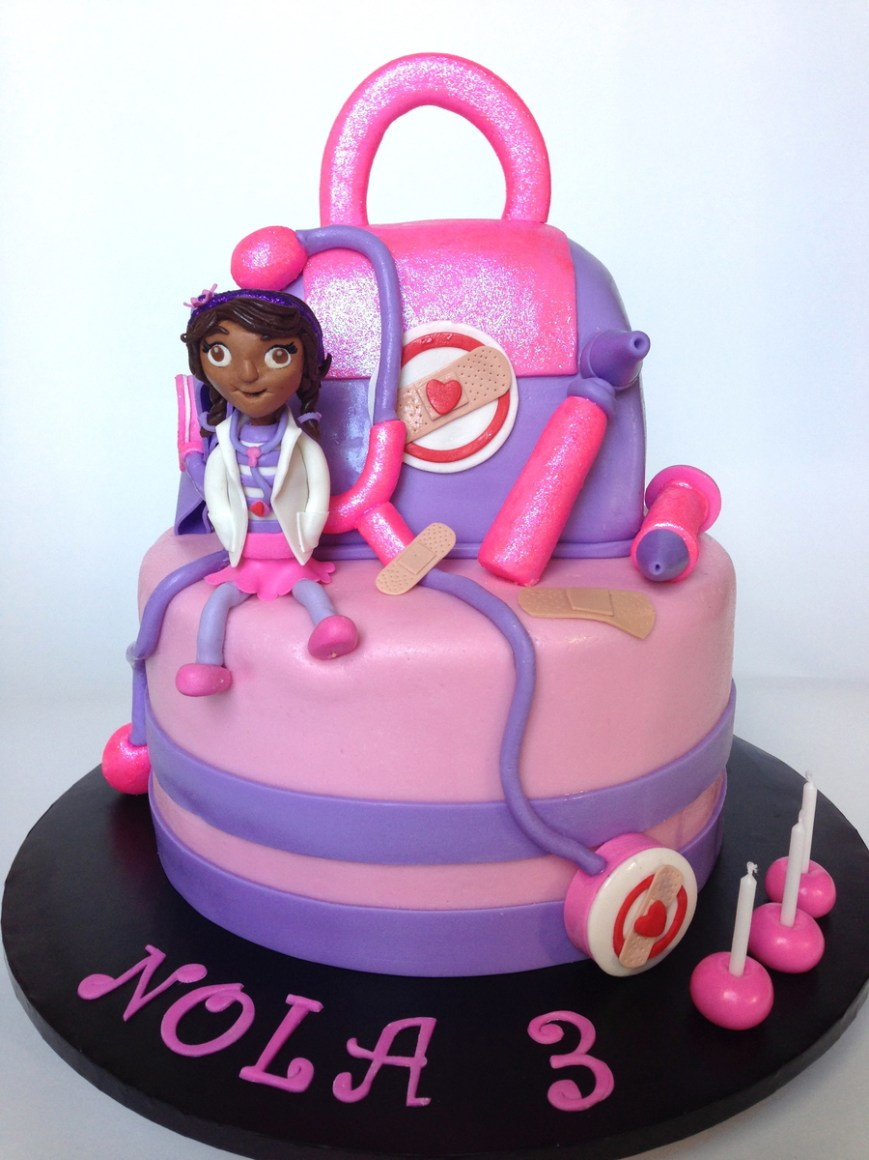 Doc Mcstuffin Birthday Cakes Doc Mcstuffins Birthday Cake Cakecentral