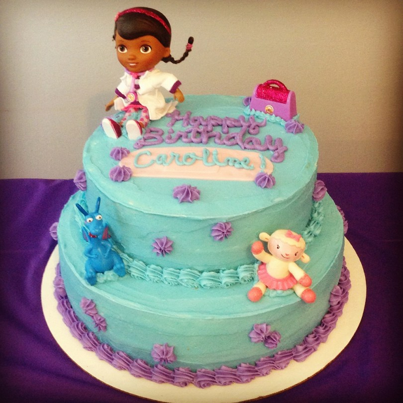 Doc Mcstuffin Birthday Cakes Doc Mcstuffins Birthday Cake Krista Becker Flickr